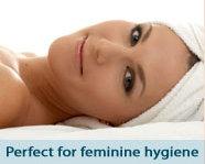 Great for feminine hygiene
